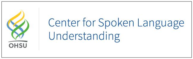 Center for Spoken Language Understanding